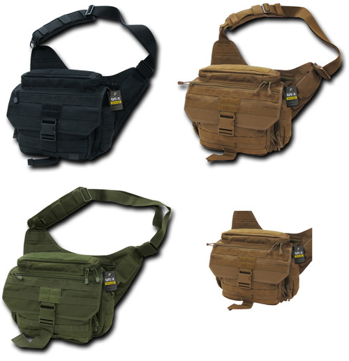 EDC MOLLE Shoulder Tactical Field Messenger Work Bag Camping Gear Hiking Life Time Warrnaty