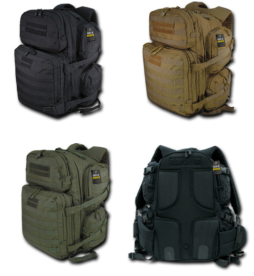 Rapid 96, 4 Day Tactical Pack Bag Military Army Hiking Backpack Life Time Warrnaty
