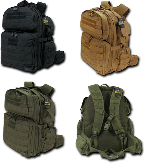Tactical Rex (T-Rex) Assault Pack Bag Military Army Hiking Backpack Life Time Warrnaty