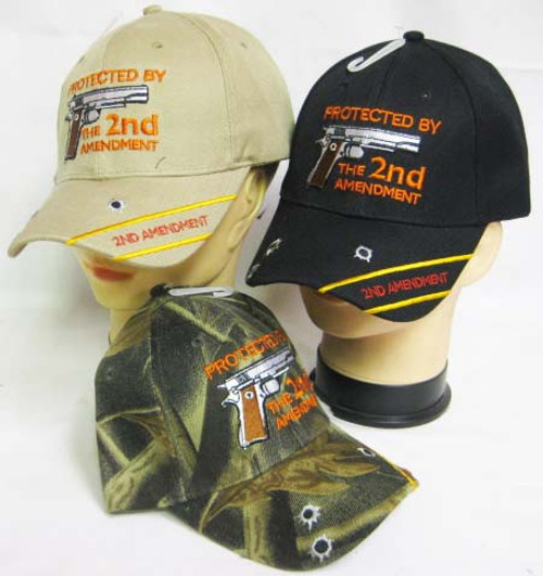 Protected By 2nd Amendment Hat Baseball Cap