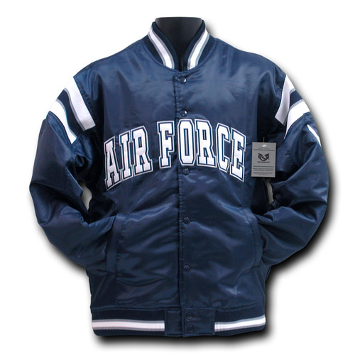 United States Air Force USAF Military Coach`s Jacket