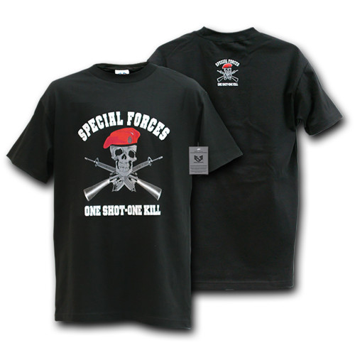 Special Forces One Shot One Kill Military T-SHIRT