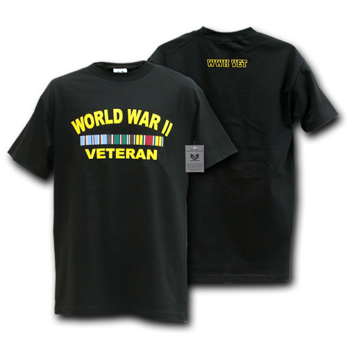 World War II Veteran Military T-Shirt War and Operations T-SHIRT