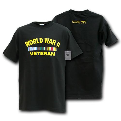 World War II Veteran Military T-Shirt War and Operations T-SHIRT