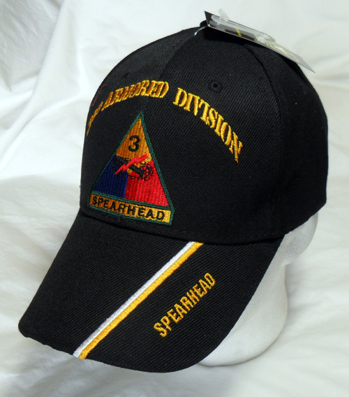 3RD Armored Division OFFICIALLY LICENSED Military Hat Baseball Cap Hat