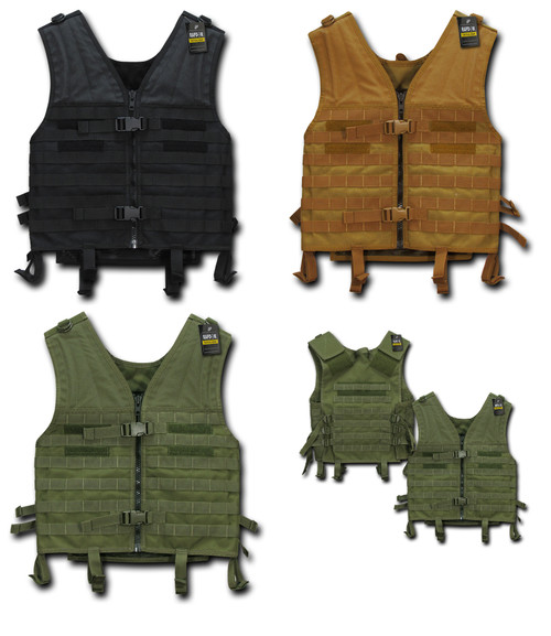 Tactical Modular Military Spec Style Vest with Life Time Warranty