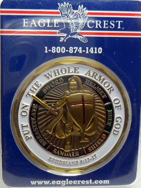Sailor Whole Armor of God Challenge Coin Ephesians 6-13-17