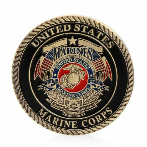 United States Marines USMC SEMPER FI Release The Dogs Of War Challenge Coin