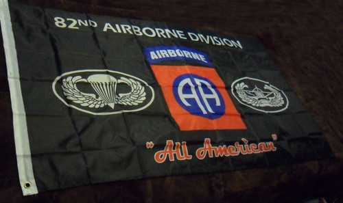 82nd Airborne Flag All American - U.S.Military US ARMY Officially Licensed Military Flag