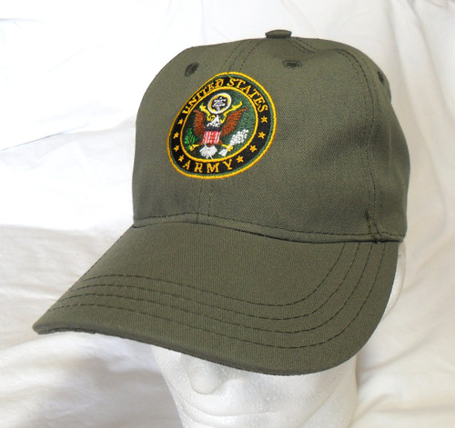 US ARMY ODG With Seal Made In USA Black Military Hat Baseball Cap