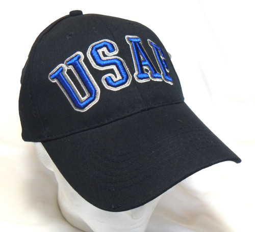 U.S.A.F. US AIR FORCE WITH BOLD Lettering OFFICIALLY LICENSED Military Hat ball cap