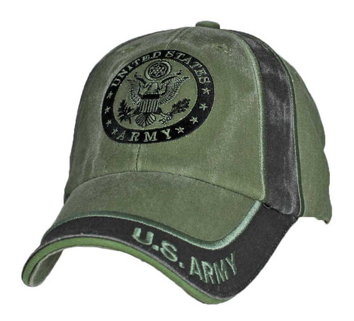 U.S. ARMY WITH ARMY SEAL INSIGNIA - Officially Licensed Baseball Cap Hat