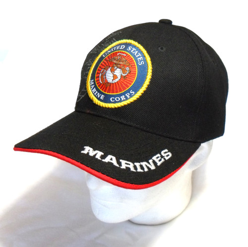 U.S. MARINES U.S.M.C OFFICIALLY LICENSED With Seal Baseball Cap Hat