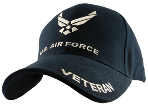 U.S.A.F. US AIR FORCE VETERAN OFFICIALLY LICENSED Military Hat Baseball cap