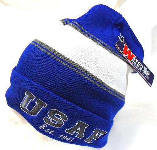 USAF Air Force Officially Licensed Watch Cap Beanie Winter Ski Hat Toboggan