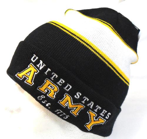 U.S. Army Watch Cap Beanie Winter Ski Hat Toboggan Officially Licensed