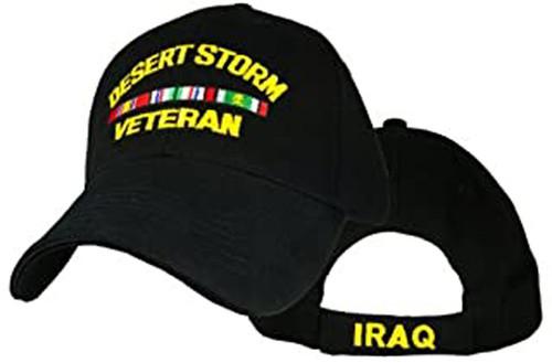 Desert Storm Veteran with Ribbons Military Hat Baseball Cap (You Are Appreciated)