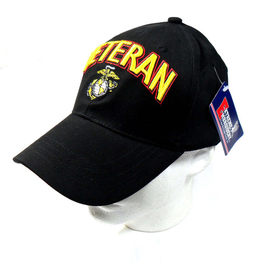 U.S.M.C. - United States Marine Corp Officially Licensed OD Green Baseball Cap Hat