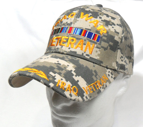 Iraq War Veteran Miltary Hat Baseball Cap (You Are Appreciated)