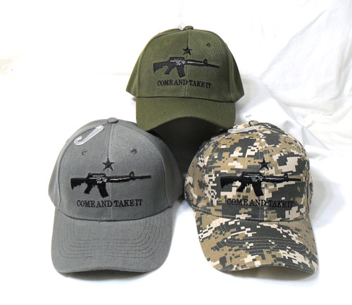 3 Pack Mix Come Take It Tactical Baseball Cap Hat