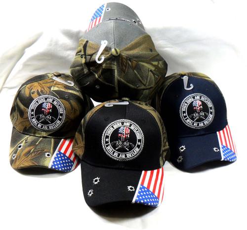 2nd Amendment When Guns are Outlawed Hat Baseball Cap Patriotic Hat