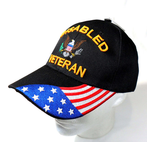 Disabled Veteran Miltary Hat Baseball Cap (You Are Appreciated)