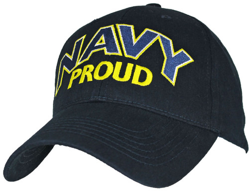U.S. Navy with Navy Proud Officially License Military Hat Baseball Cap
