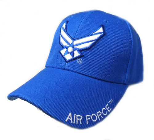 US AIR FORCE OFFICIALLY LICENSED With Wings Hat Baseball cap