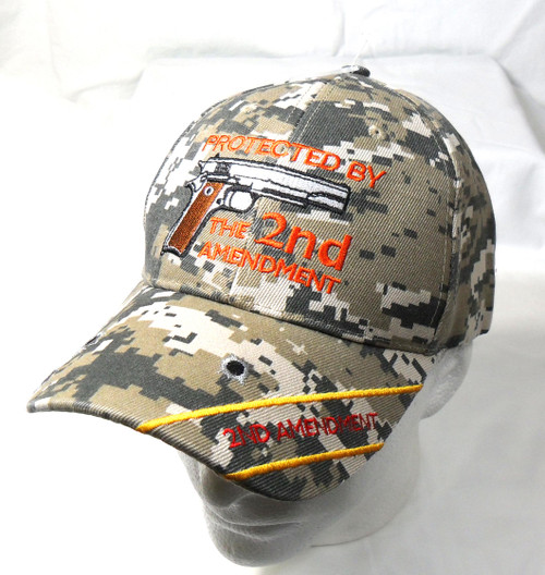 ACU Protected By 2nd Amendment Hat Baseball Cap