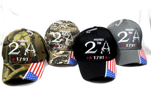 Protect the 2nd Amendment Hat Baseball Cap Patriotic Hat