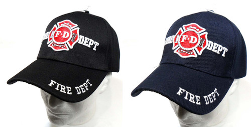 Fire Department Hat Baseball Cap Hats (Show Your Appreciation for Emergency Services)