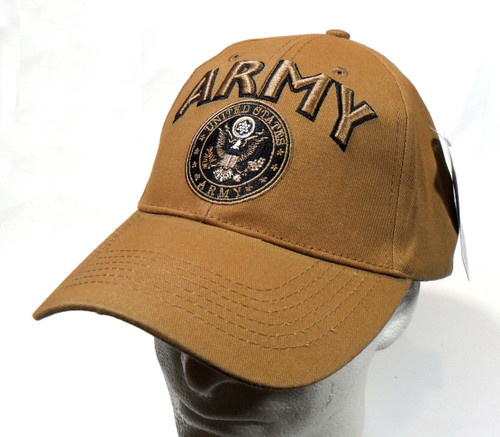 U.S. Army with Army  Seal CYB Officially Licensed Baseball Cap Hat