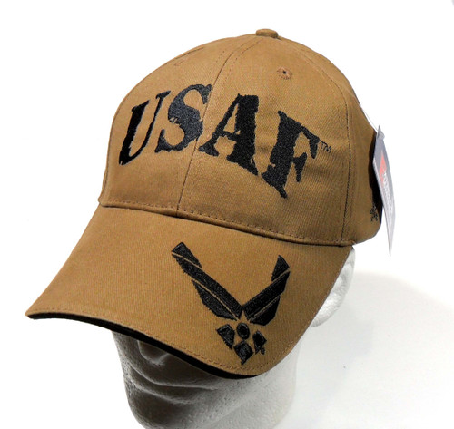 USAF US AIR FORCE  - With Hap Officially Licensed Military Baseball Cap Hat