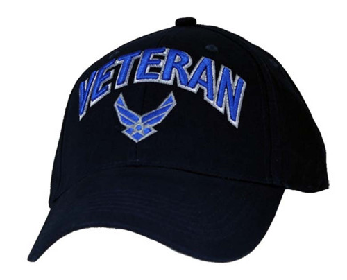 U.S.A.F. US AIR FORCE VETERAN OFFICIALLY LICENSED Baseball cap Military Cap Hat