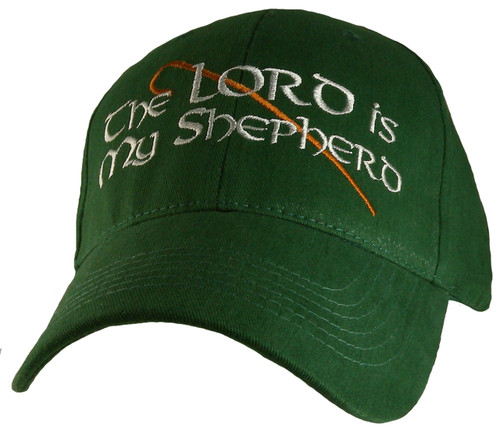 The Lord Is My Shepard I Shall Not Want Psalm 23:1 Christian Hat Baseball Cap
