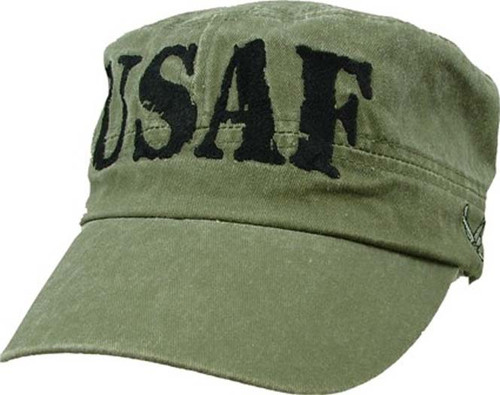 U.S.A.F. US AIR FORCE Cadet Style Military Hat Baseball Cap Officially Licensed