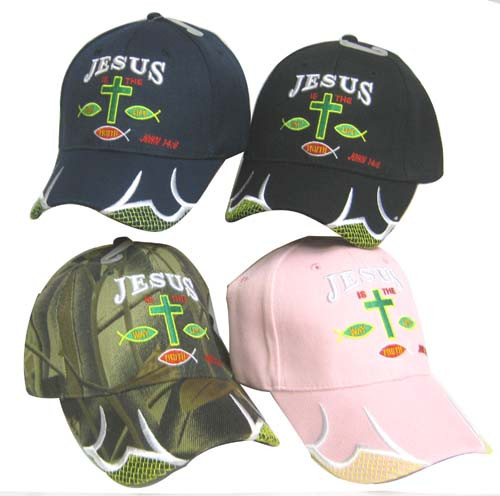 JESUS IS THE WAY (Says It all) John 14:6 Christian Hat Baseball Cap