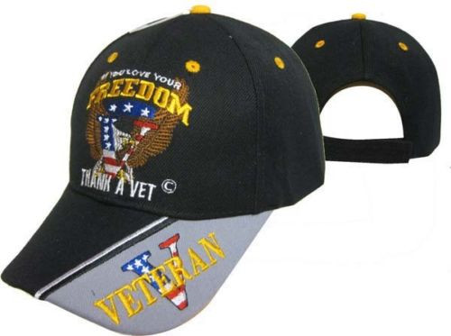 IF YOU LOVE YOUR FREEDOM THANK A VETERAN Hat Baseball Cap (You Are Appreciated)