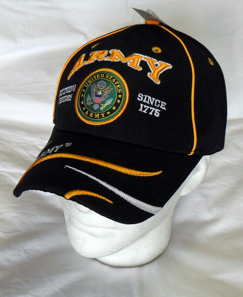 U.S. Army Defending Freedom OFFICIALLY LICENSED With Seal Baseball Cap Hat