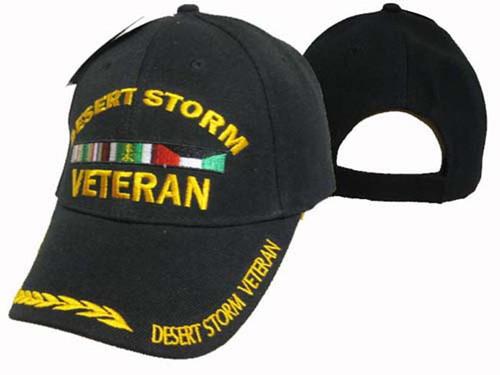 Desert Storm Veteran Miltary Hat Baseball Cap (You Are Appreciated)