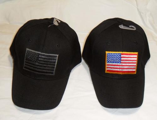US American Flag Patch U.S.A. United States America Tactical Baseball Hat  Cap 6c6e33cc165