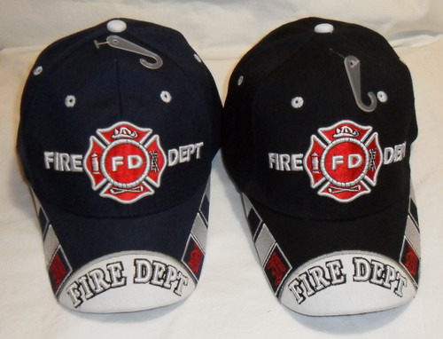 Fire Department Hat Baseball Cap (Show Your Apprecitian for Emergency Services)
