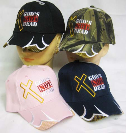 GOD IS NOT DEAD HE IS SURELY ALIVE CHRISTIAN HAT BASEBALL CAP Isaiah 40:28