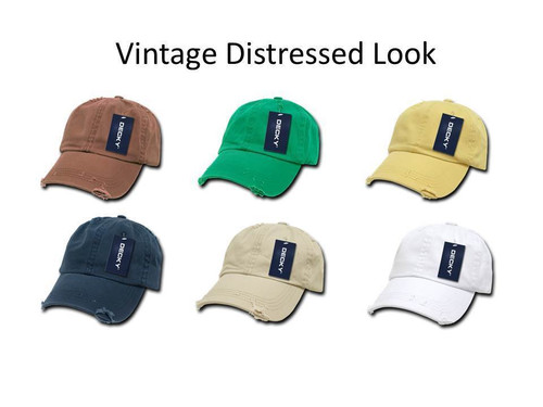 Vintage Distressed Retro Polo Hat Low Profile Baseball Cap Golf Hat Hats Caps