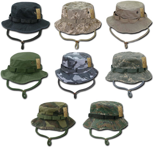 ab6c22af5ec Military Style Boonie Hunting Army Fishing Outdoor Hiking Bucket Jungle Hat