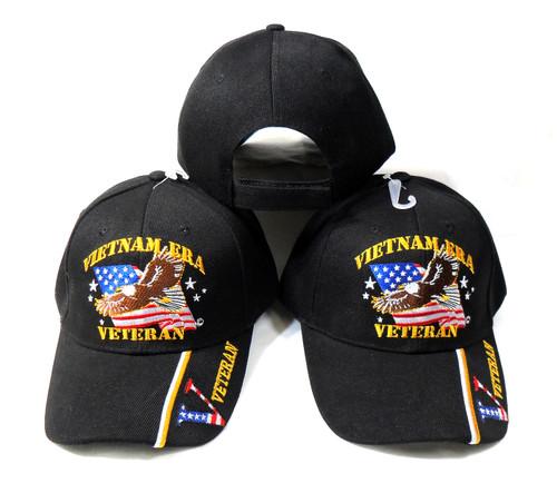 Vietnam Era Veteran (3 Pack) Military Hat Baseball Cap (You Are Appreciated)