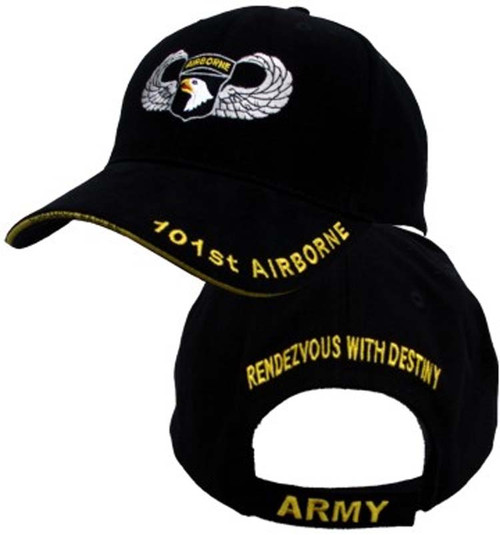 101st Airborne Insignia Hat - U.S. Army Officially Licensed Military Hat Baseball Cap