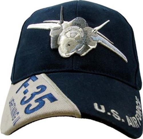 U.S.A.F. U.S.Air Force F-35 Lightning II Officially Licensed Military Hat Baseball Cap