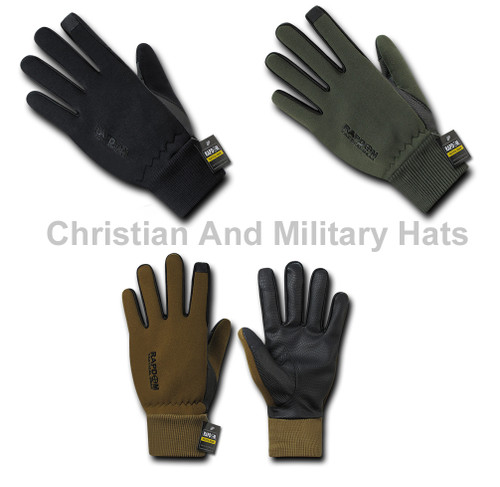 Neoprene Gloves With Cuff Military Specs Sizes S to 2XL