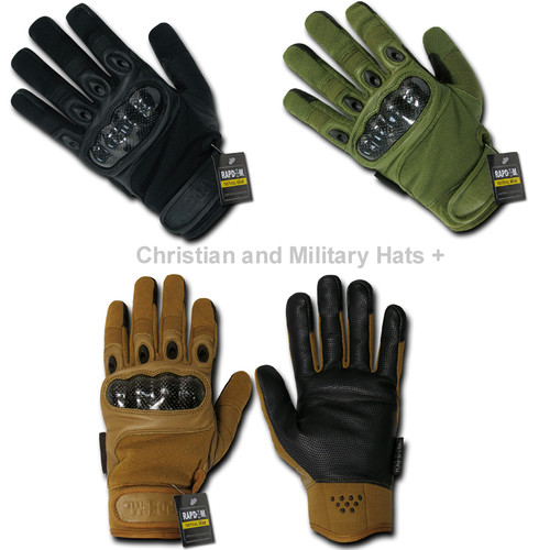 Carbon Fiber Hard Knuckle Glove Gloves excellent for M.O.U.T.  Sizes XS to 3XL